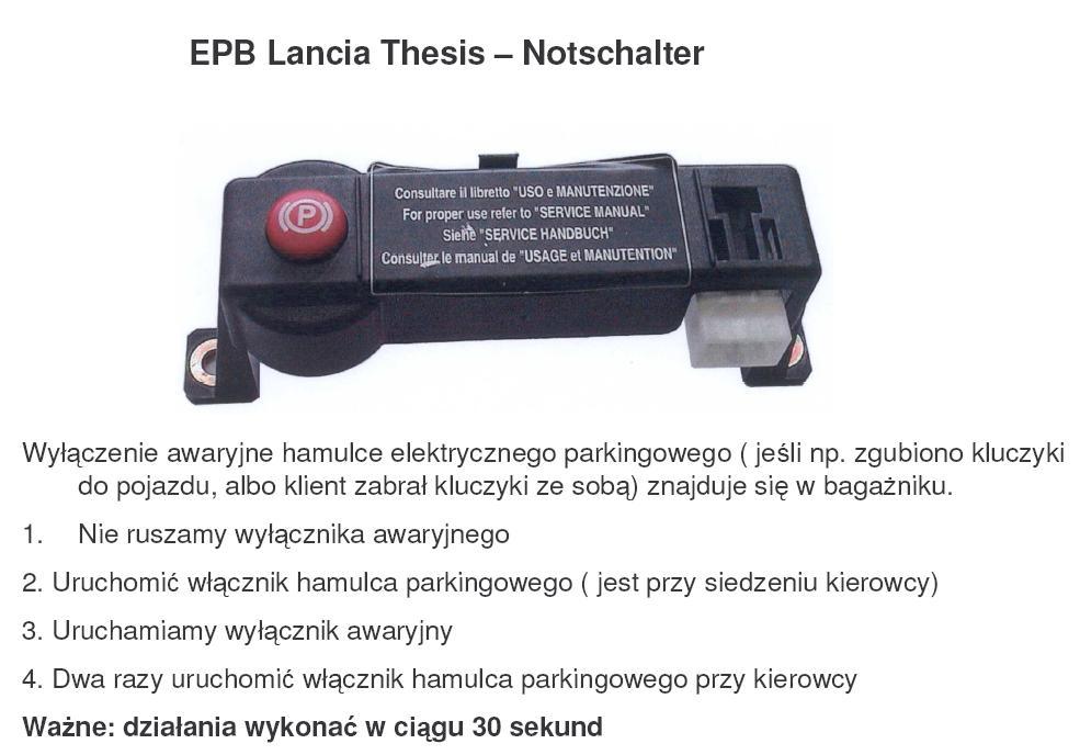 thesis wymiana klocków