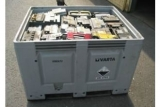 palox, czyli pojemnik na zuzyte akumulatory